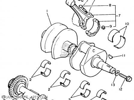 1980s Yamaha Venture Royale Wiring Diagram