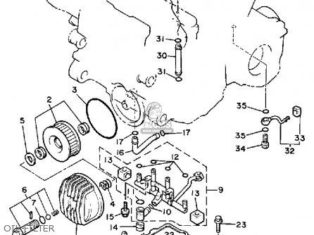 Yamaha Xvz13d Xvz13dc Venture Royale 1986 G Usa California Parts