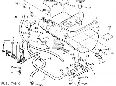 Harley Davidson Fuel Tank Parts Diagram