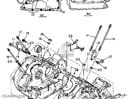 Motorcycle Yamaha Virago Engine Diagram together with Brake Line Stainless Steel For Bmw R2v R45 R 65 F in addition Yamaha Vision Parts Diagram as well Renthal Fatbar Low Bar Black furthermore 1973 Yamaha Wiring Diagram. on yamaha xs650 parts