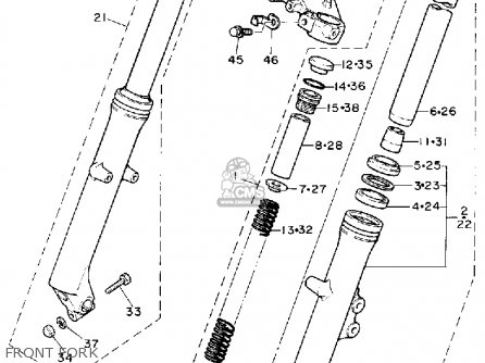 Yamaha Fork Free Piston