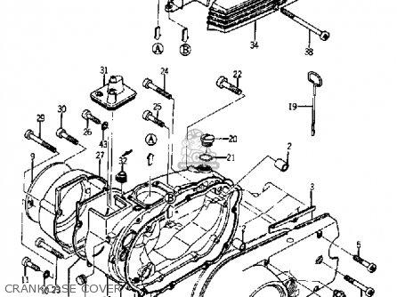 Yamaha Ya6 1966 Crankcase Cover