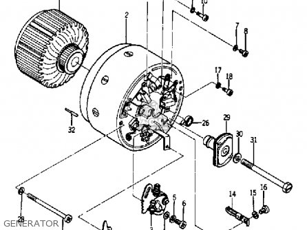Yamaha Ya6 1966 Generator