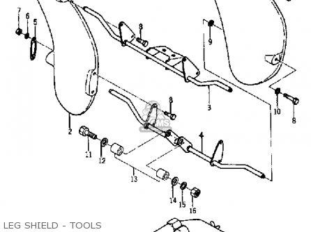 Yamaha Ya6 1966 Usa Leg Shield - Tools