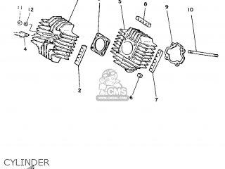 Yamaha Yb100 1987 18n England 2718n-310e1 Cylinder