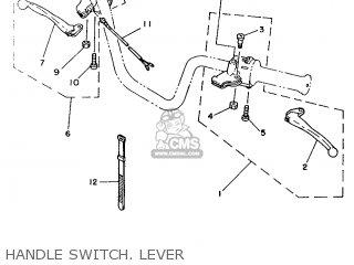 Yamaha Yb100 1987 18n England 2718n-310e1 Handle Switch  Lever