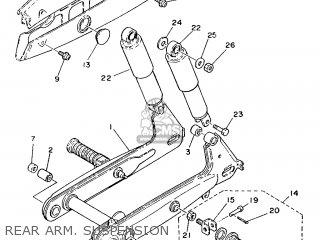Yamaha Yb100 1987 18n England 2718n-310e1 Rear Arm  Suspension