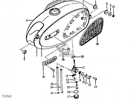 Yamaha Rd200 Wiring Diagram Wiring Source