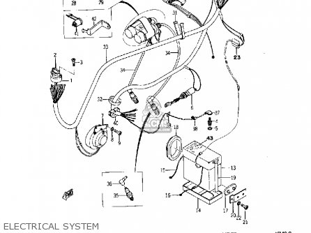 Yamaha Yds5 1967 Electrical System