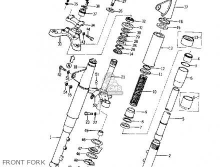 Yamaha Yds5 1967 Front Fork