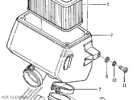 Yamaha Yds5 1967 Usa Air Cleaner