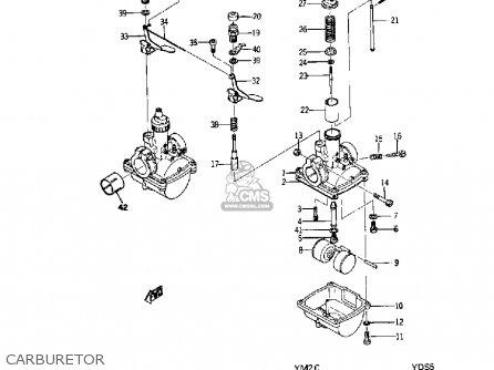 Yamaha Yds5 1967 Usa Carburetor
