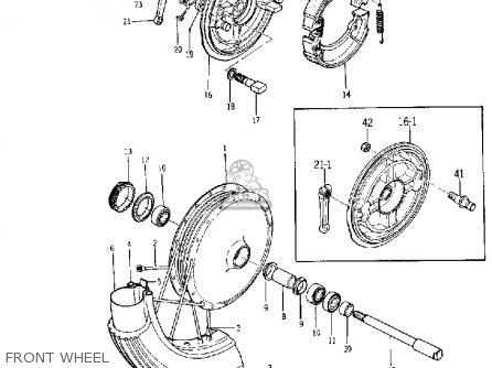 Yamaha Yds5 1967 Usa Front Wheel