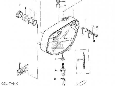 Yamaha Yds5 1967 Usa Oil Tank
