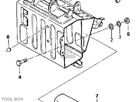 Yamaha Yds5 1967 Usa Tool Box