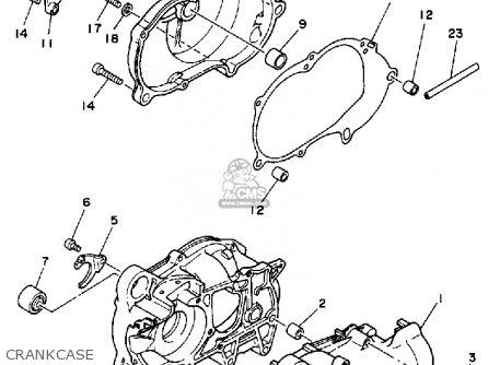 Yamaha Yf60s 1986 Moto-4 Usa Crankcase