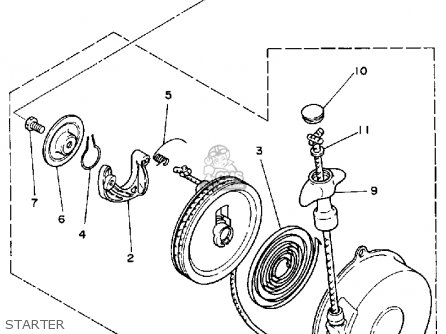 Yamaha Yf60s 1986 Moto 4 Usa Parts Lists And Schematics