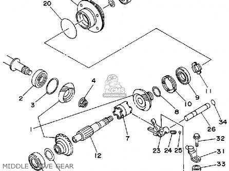 Yamaha Timberwolf Diagrams
