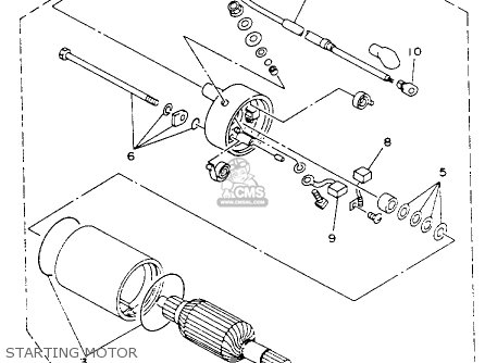 Yamaha    Yfb250e    Timberwolf    1993 parts list partsmanual partsfiche