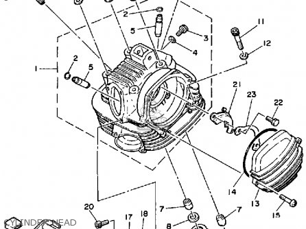 Kawasaki 110 Dirt Bike Parts Diagram
