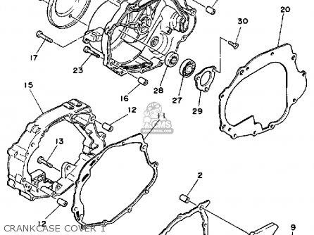 yamaha yfm200dxu 1988 moto