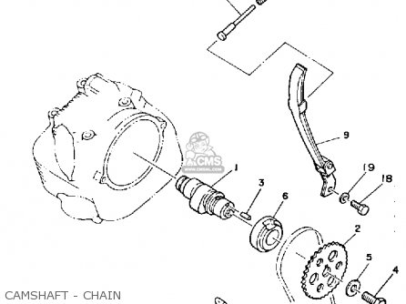 Yamaha Yfm200n 1985 Moto 4 Parts Lists And Schematics