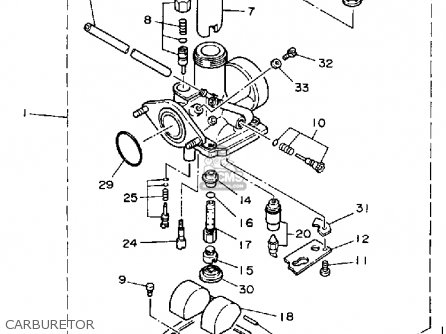 4 3 Yamaha Engine Diagram on car gas tank