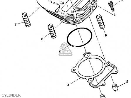 Yamaha Yfm200n Moto4 1985 Electrical 1 Schematic Partsfiche