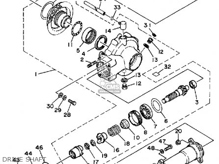 Yamaha Moto 4 Carburetor Diagram