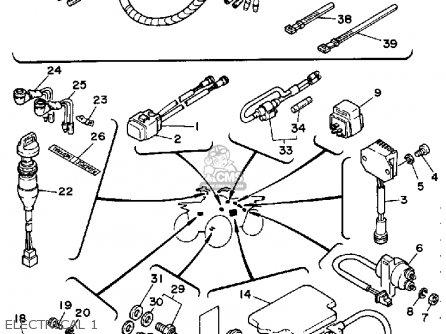 Yamaha Wiring Diagram Moto 4 1985