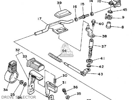 Yamaha Yfm250w Moto 4 1989 Parts Lists And Schematics