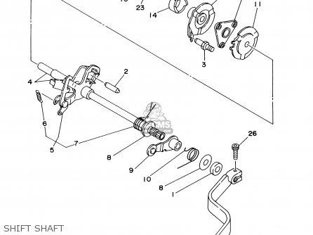 Yamaha Yfm250xnxhn 2001 Usa Parts Lists And Schematics