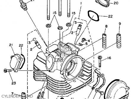 Yamaha Yfm350erw Moto 4 1989 Parts Lists And Schematics