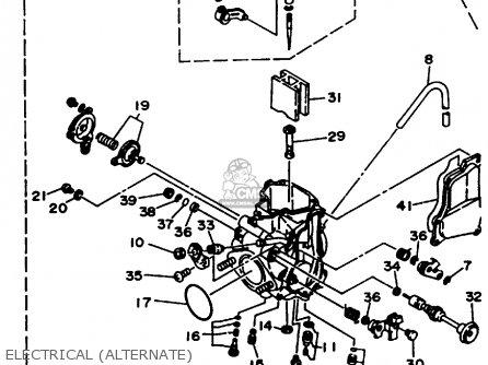 Yamaha Yfm350fwg Wiring Diagram