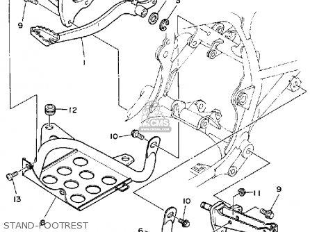 Yamaha Warrior Wiring Diagram Model on