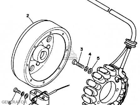 Yamaha Yfm350xt 1987 Generator