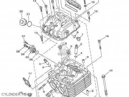 Yamaha Yfm660fr 2003 Usa 50 States Parts Lists And Schematics