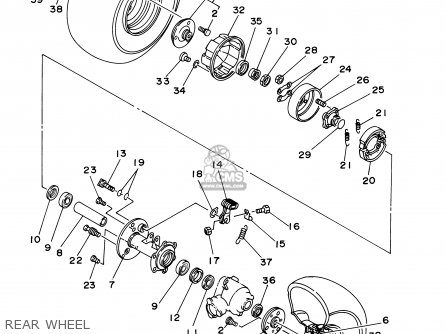 Yamaha Yfm80mmc 2000 Usa Except California California Parts Lists