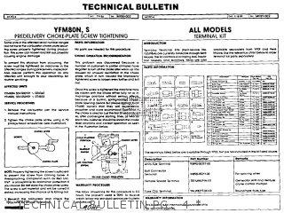 Yamaha Yfm80n Moto-4 1985   Technical Bulletin Pg   4