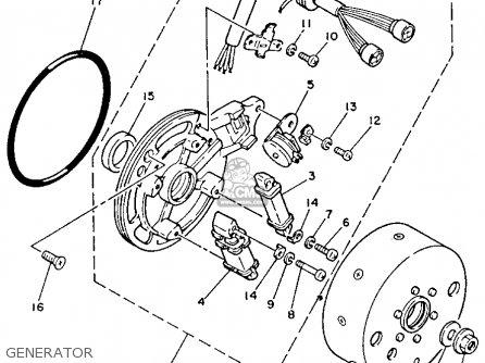 Yamaha Yfm80s Moto-4 1986 Generator