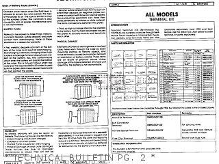 Yamaha Yfm80s Moto-4 1986   Technical Bulletin Pg   2