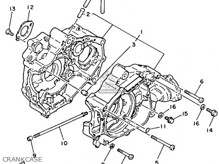 yamaha yfm80t moto 4 1987 crankcase_mediumyau0291b 1_0fd2 2001 polaris trailblazer wiring diagram 2001 find image about,2003 Polaris Trail Boss Wiring Harness