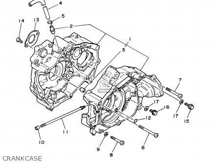 Yamaha Yfm80wr 2003 Parts Lists And Schematics