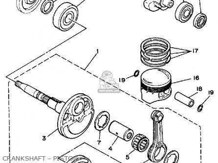 yamaha terrapro wiring diagram yamaha yfp350u terrapro 1988 parts list partsmanual partsfiche #14