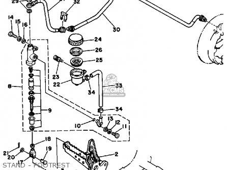 yamaha terrapro wiring diagram yamaha yfp350u terrapro 1988 parts list partsmanual partsfiche