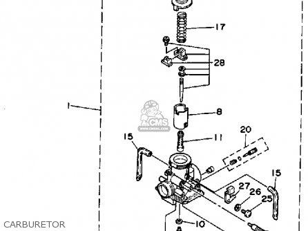 yamaha blaster rear axle diagram
