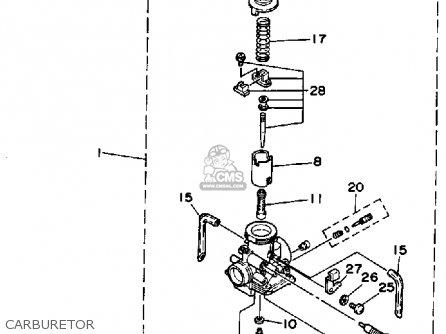 Yamaha Yfs B Blaster Carburetor Mediumyau A