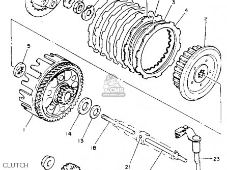 clutch removal yamaha atv engine diagram