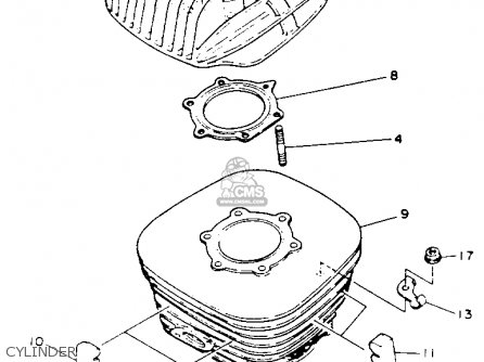 Yamaha Yfs200e Blaster 1993 Parts Lists And Schematics