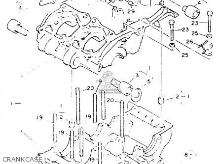 Yamaha Yfz350e Banshee Maine New Hampshire 1993 Crankcase